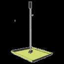 Fotplatta för lasergjutning, höj o sänkbar