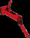Formsträckare för montering av formlås